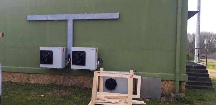 Installation de groupe extérieur