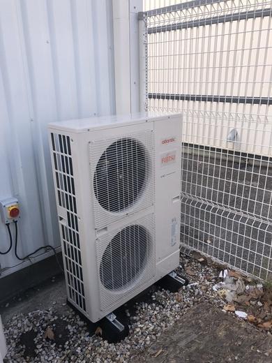 Mise en service d'une climatisation monosplit gainable ATLANTIC